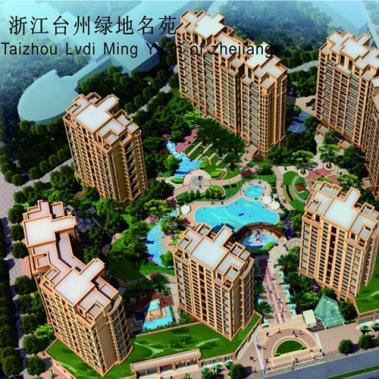 浙江台州绿地名苑铝合金门窗系统