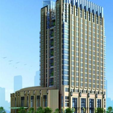 浙江温州三和大酒店铝合金门窗